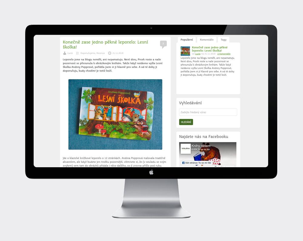 Web Knihy dětem