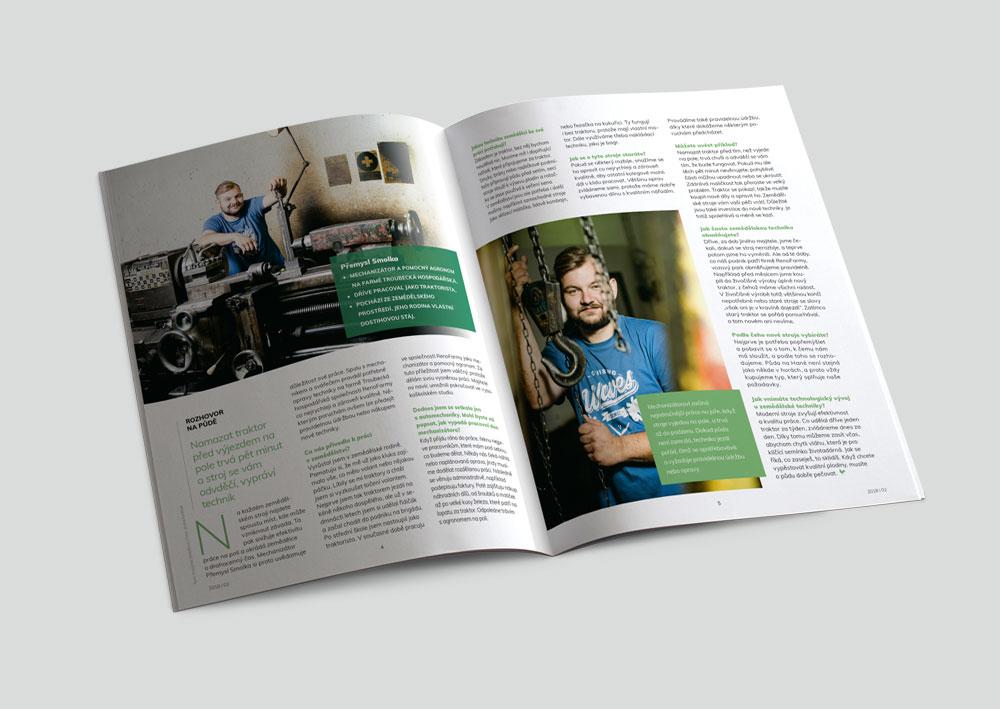 Klientský magazín NaPůdě